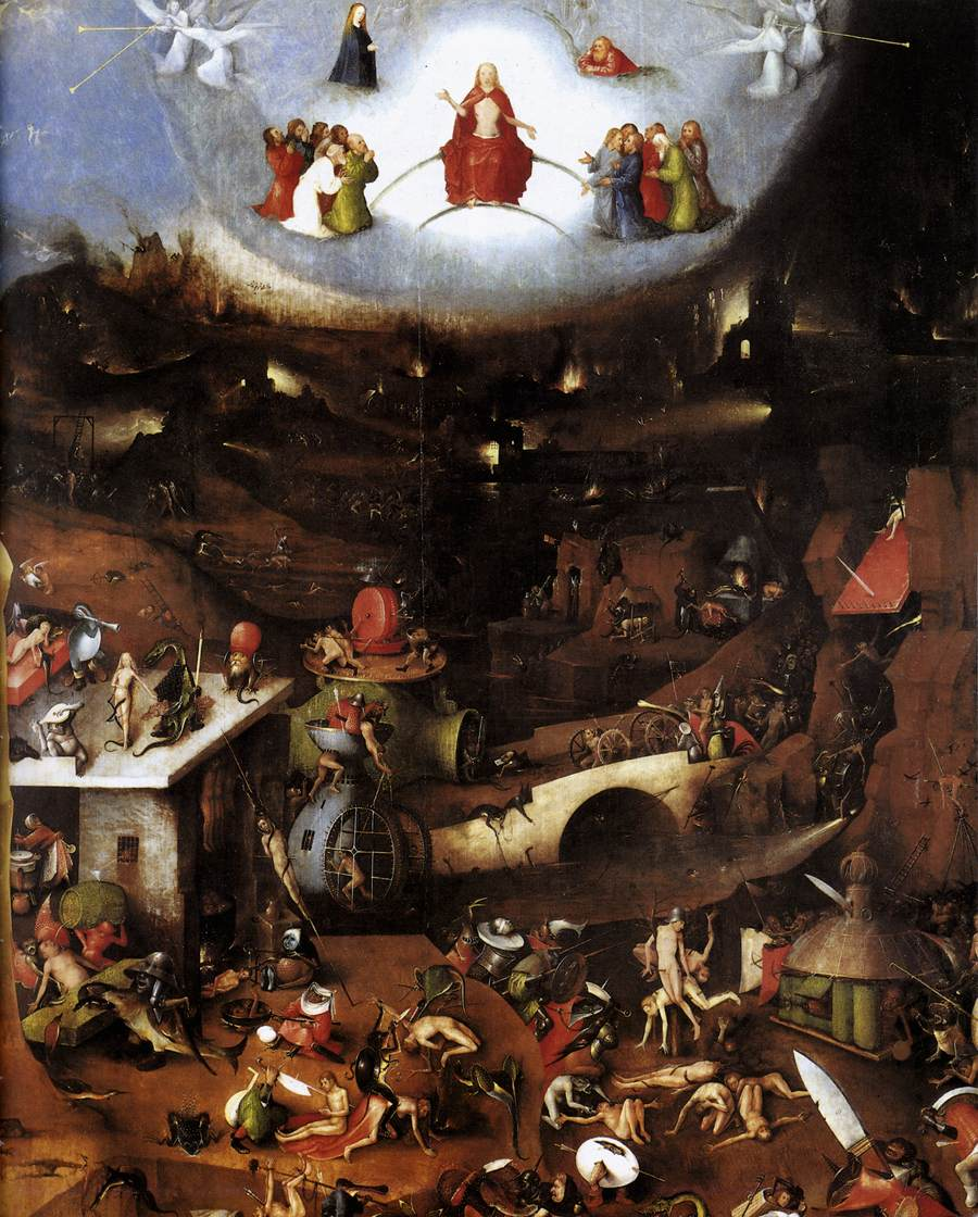 Descripción: https://upload.wikimedia.org/wikipedia/commons/8/85/Hieronymus_Bosch%2C_The_Last_Judgment.JPG