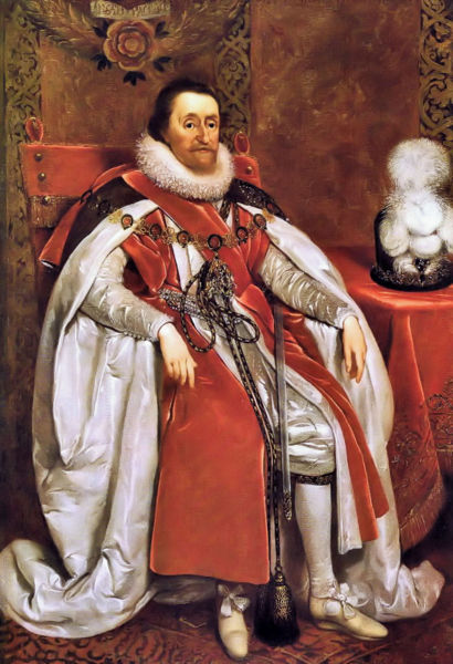 Fichier:James I of England by Daniel Mytens in 1621.jpg