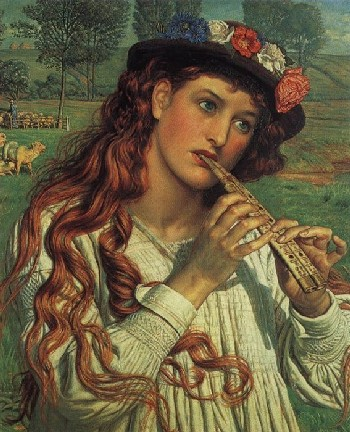 Amaryllis, William Holman Hunt.