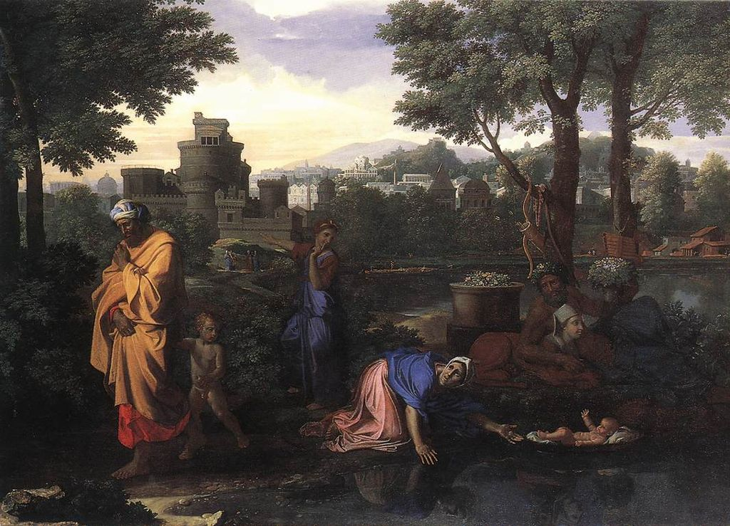 https://upload.wikimedia.org/wikipedia/commons/thumb/6/62/Nicolas_Poussin_-_The_Exposition_of_Moses_-_WGA18335.jpg/1024px-Nicolas_Poussin_-_The_Exposition_of_Moses_-_WGA18335.jpg