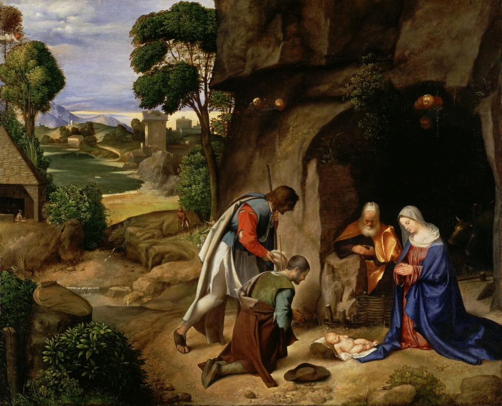 http://amelieke.com/wp-content/uploads/2012/12/Giorgione_aanbidding_der_herders_1505_1510-1024x828.jpg