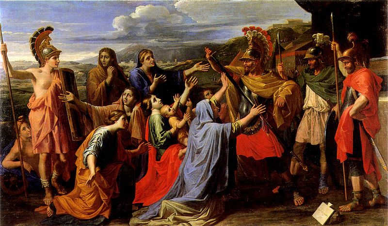 https://upload.wikimedia.org/wikipedia/commons/thumb/7/7c/Poussin_Coriolan_Les_Andelys.jpg/800px-Poussin_Coriolan_Les_Andelys.jpg