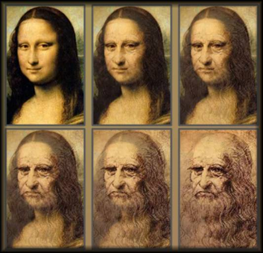 an investigation comparison and analysis of mona lisa a painting by leonardo da vinci Is 'mona lisa' a self-portait by leonardo da vinci  reconstruction of leonardo's face, they can compare it with the smiling face in the painting, experts involved in the project told the .